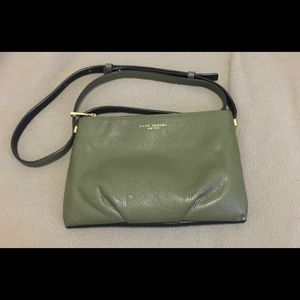 Marc Jacobs Army Green/Black two tone crossbody